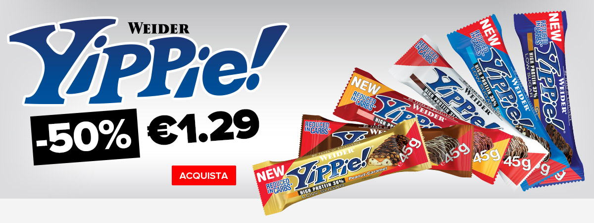 Weider Yippie! (45g) 50% di sconto