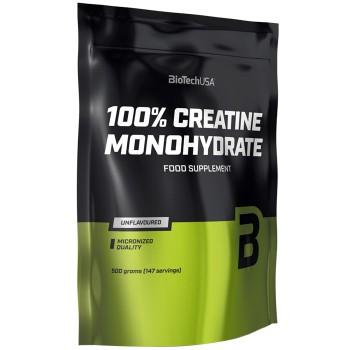 100% Creatine Monohydrate Bag (500g)