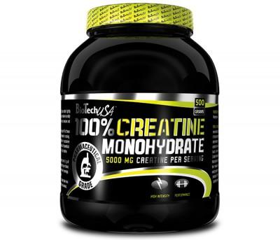 100% Creatine Monohydrate (500g)