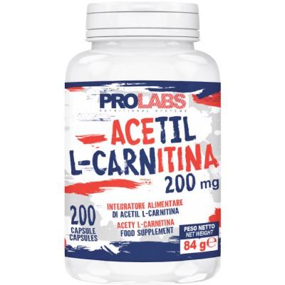 Acetil L-Carnitina 200mg (200cps)