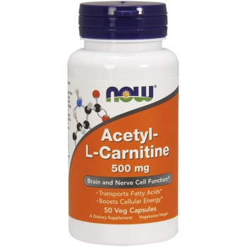Acetyl L-Carnitine 500mg (50cps)
