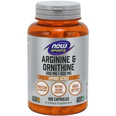 Arginine & Ornitine (100cps)