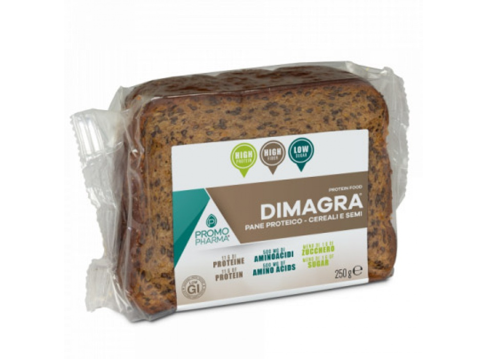 Dimagra Pane Proteico - Cereali e Semi (5x50g)