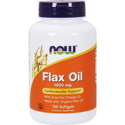 Flax Oil 1000mg (100cps)