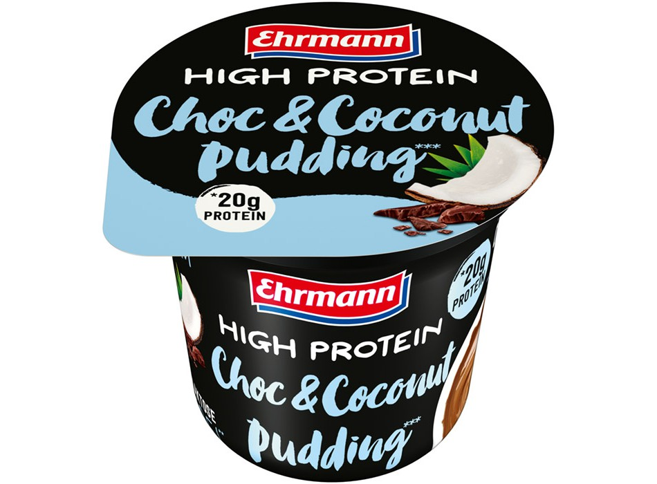 High Protein Pudding Choco & Coconut (200g)