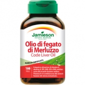 Olio di fegato di merluzzo (100cps)