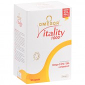 Omegor Vitality 1000 (90 cps)