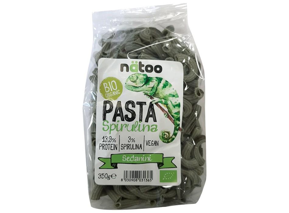 Pasta Spirulina - Sedanini (350g)