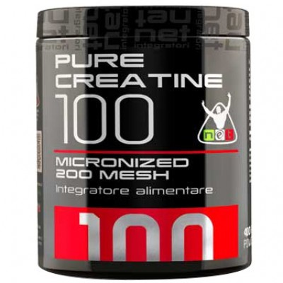 Pure Creatine 100 Micronized Mesh (400g)