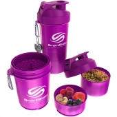 SmartShake Original 600ml Neon Purple