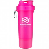 SmartShake Slim Neon Pink (500ml)