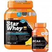 Star Whey Isolate + BCAA (750g+100cpr)