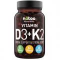 Vitamin D3 + K2 (60cps)